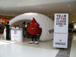 Year of the Blood Donor logo